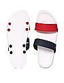U.S. Polo Assn. Colour Blocked Rubber Slippers