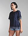 GAP Peasant Embroidered Top