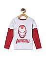 Colt Grey Boys Iron Man Graphic T-Shirt
