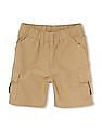 The Children's Place Baby Beige Woven Cargo Shorts