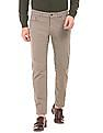 Gant Solid Slim Straight Fit Pants
