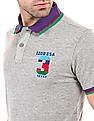 Izod Melange Slim Fit Polo Shirt