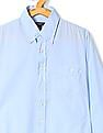 Gant Boys Button Down Collar Solid Shirt