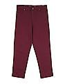 Cherokee Flat Front Twill Trousers
