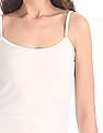 Unlimited Solid Cotton Spandex Camisole