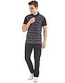 Arrow Newyork Printed Front Regular Fit Polo Shirt