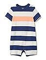 GAP Baby Blue Stripe Shorty One-Piece