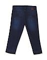 Cherokee Girls Distressed Denim Capris