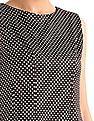 Elle Polka Dot A-Line Dress