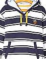 U.S. Polo Assn. Kids Boys Striped Hooded Sweatshirt